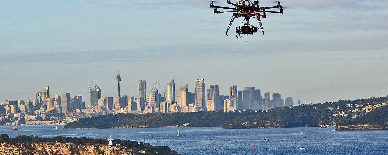 Sydney Octocopter